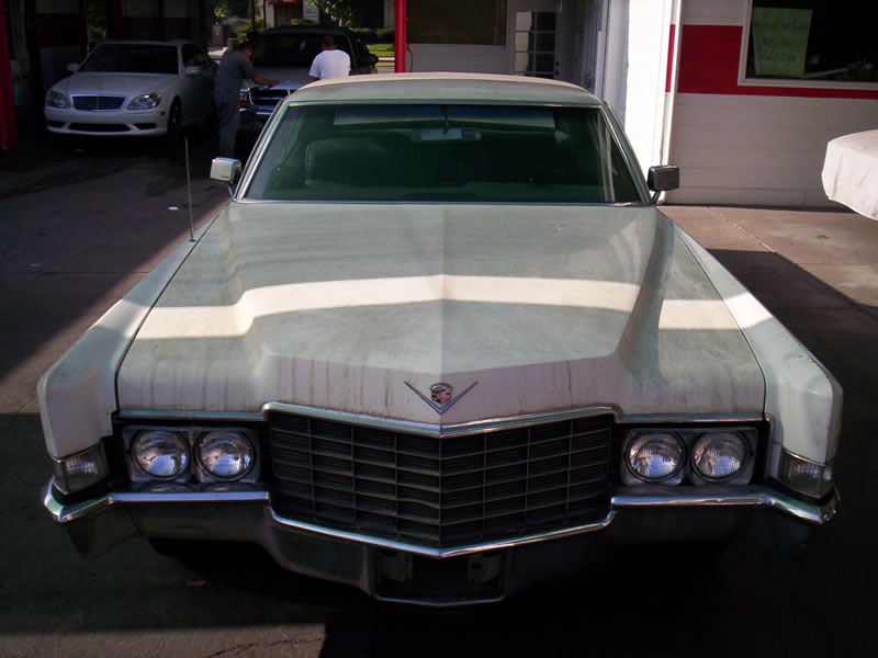 1968 Cadillac Front View Before