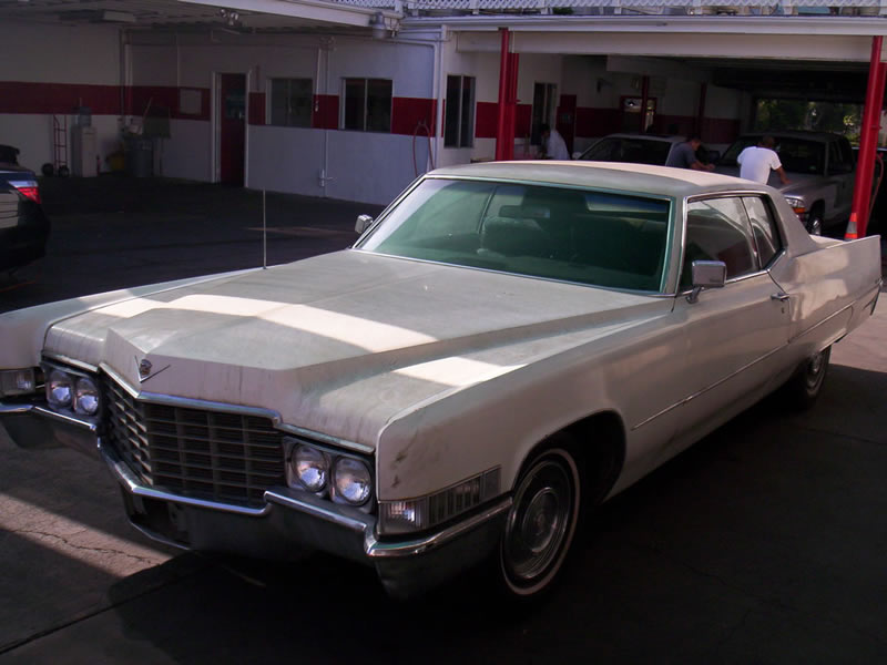 1968 Cadillac Left Front View Before