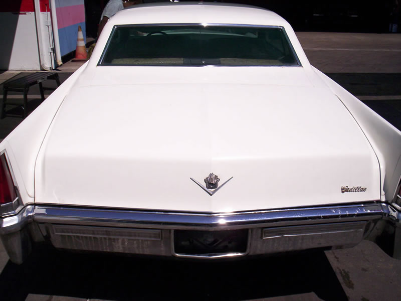 1968 Cadillac Rear View After
