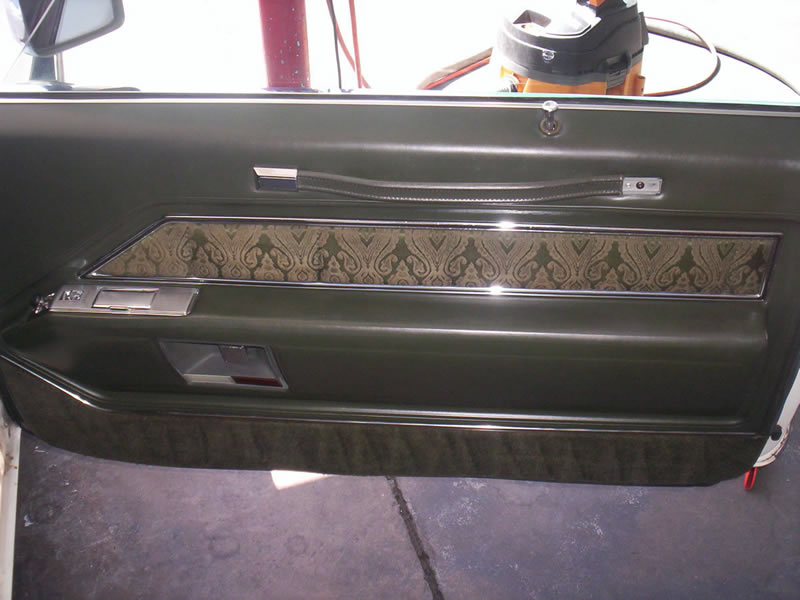 1968 Cadillac Right Door Interior View After