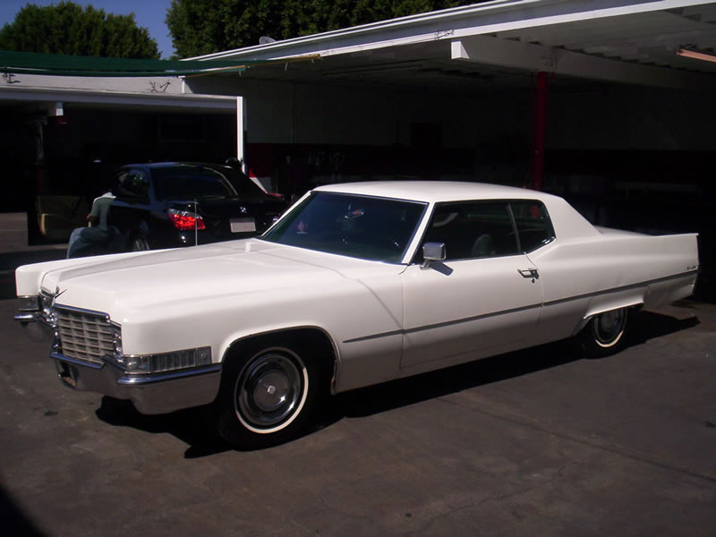 1968 Cadillac Left Front View After
