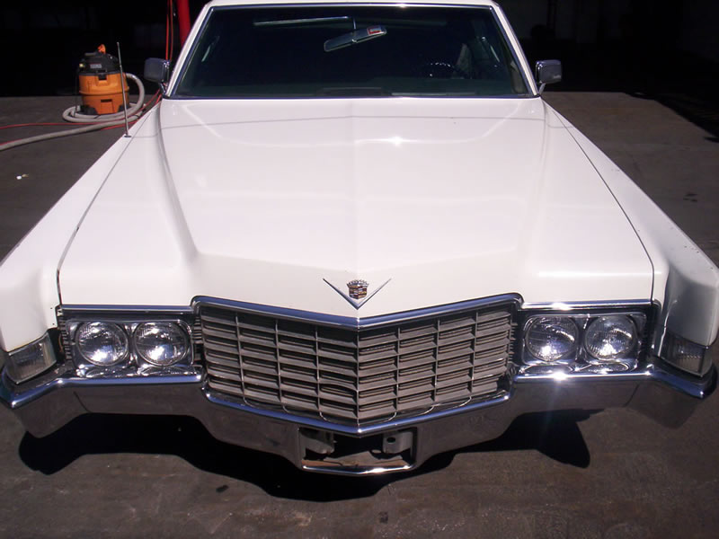 1968 Cadillac Front View After