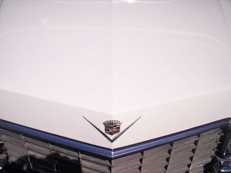 1968 Cadillac Front Hood View After