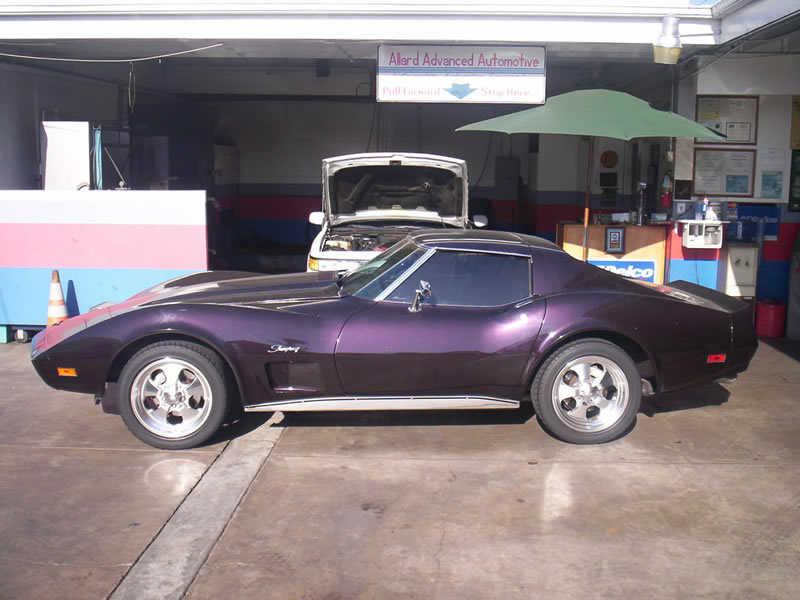1970 Corvette Stingray Driver's Side View Before