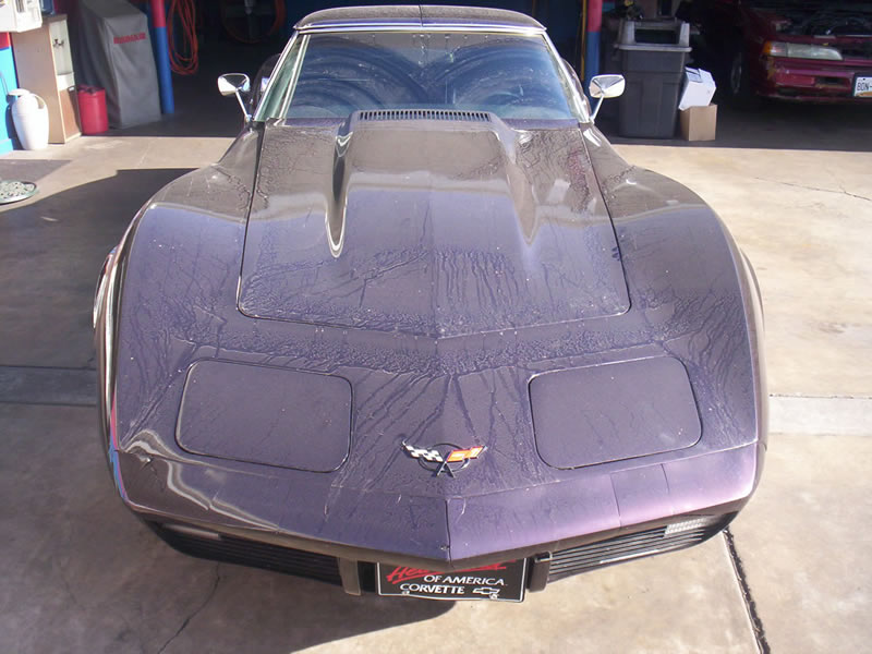1970 Corvette Stingray Front View Before