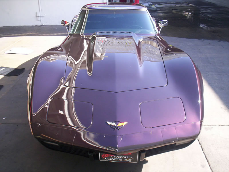 1970 Corvette Stingray Front View After