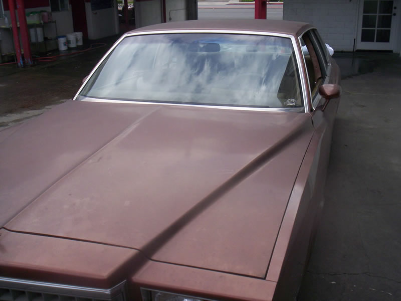 1980 Monte Carlo Right Front View Before