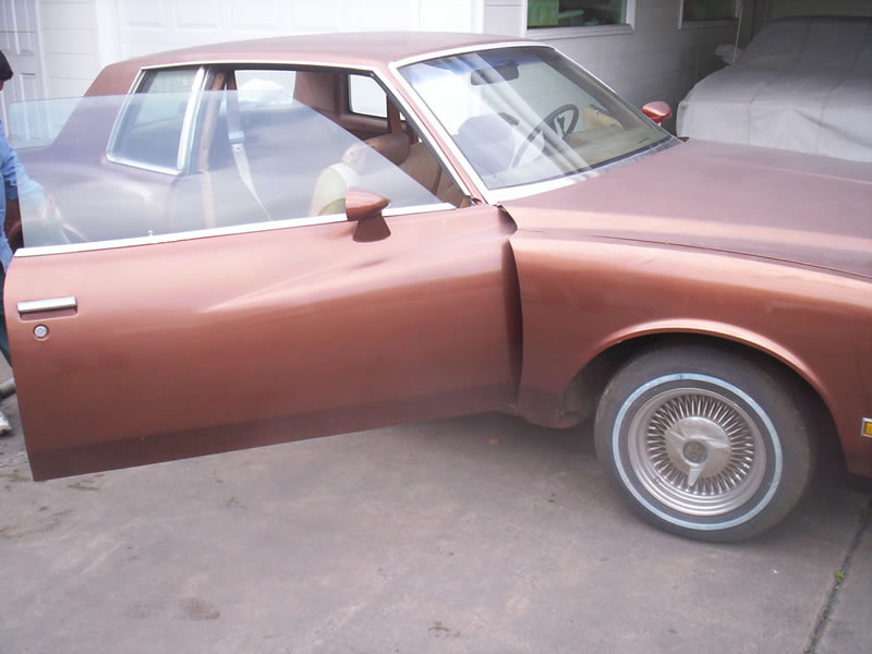1980 Monte Carlo Left Front View Before