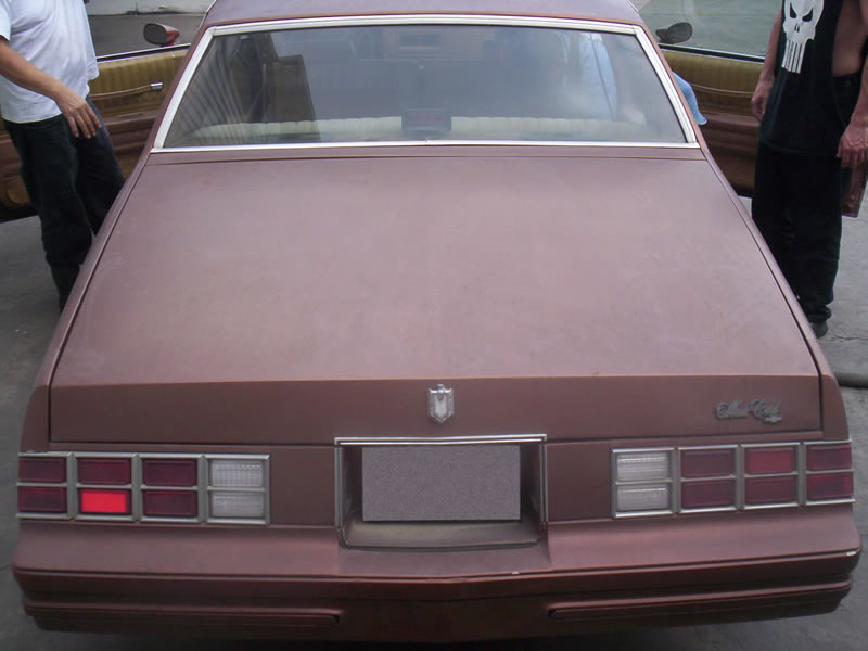 1980 Monte Carlo Rear View Before