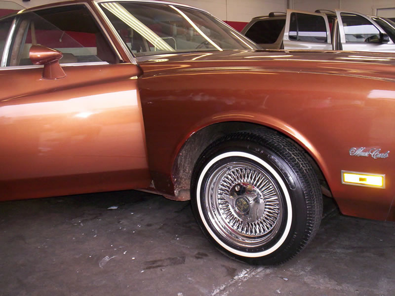 1980 Monte Carlo Left Front View After