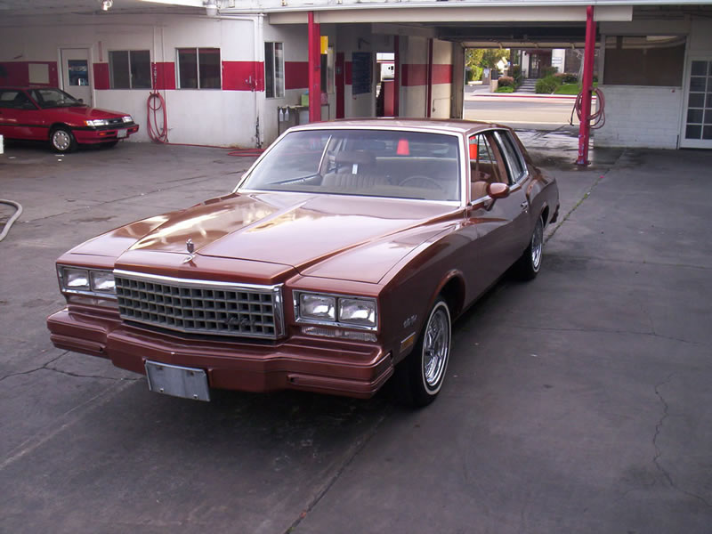 1980 Monte Carlo Right Front View After