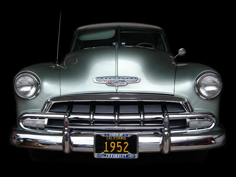 Historical Vehicle Detailing - 1952 Chevrolet Deluxe