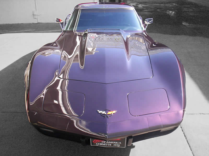 Classic Car Detailing - 1970 Corvette Stingray